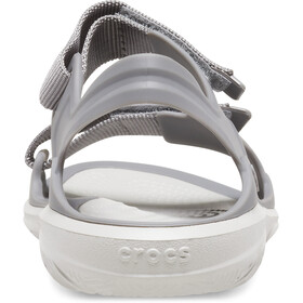 Crocs Swiftwater Expedition Sandalias Mujer, gris